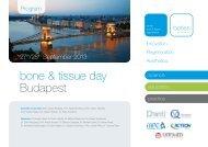 bone & tissue day Budapest