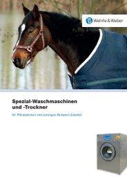 Spezial-Waschmaschinen und -Trockner - Wehrle & Weber GmbH