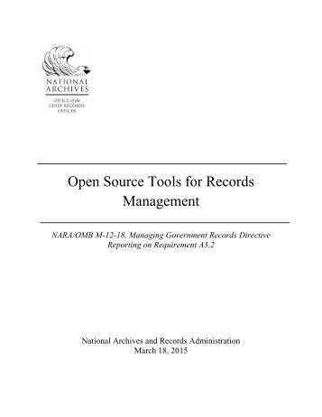 open-source-tools-for-records-mgmt-report