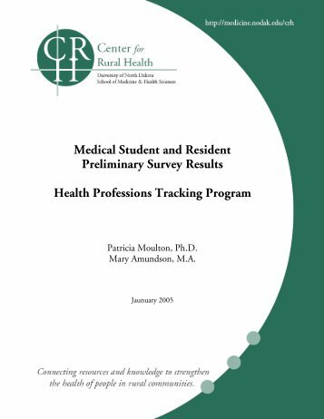 Medical Student and Resident Preliminary Survey Results Health ...