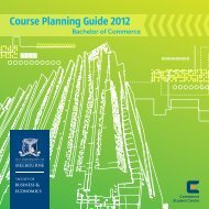 Course Planning Guide 2012 - Faculty of Business and Economics
