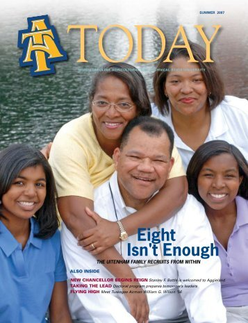 Eight Isn't Enough - North Carolina Agricultural and Technical State ...