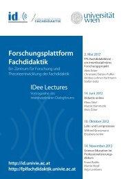 Forschungsplattform Fachdidaktik - Fachdidaktikzentrum Geschichte ...