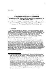 Prozessorientierte Geschichtsdidaktik - Fachdidaktikzentrum ...