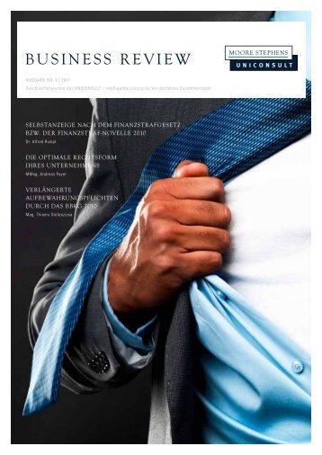 Business Review 2011 Nr. 6 - Uniconsult