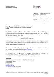 ZeitzeugInnenseminar 2012 - Generationen im Gespräch 4. bis 5 ...