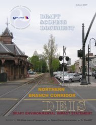 DRAFT SCOPING DOCUMENT - Northern Branch Corridor Project