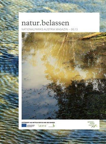 natur.belassen 06.2013 - Nationalparks Austria