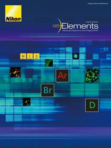 Imaging Software NIS-Elements - Nikon Instruments
