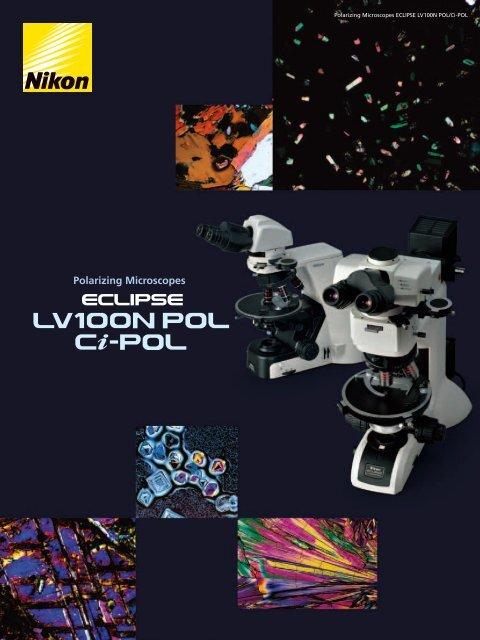 Polarizing Microscope LV100N POL/Ci-POL 2CE-MRKH-5