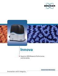 Innova Product Brochure - Bruker