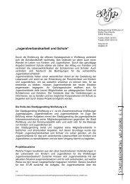 """""""Jugendverbandsarbeit und Schule"""" - Stjr.de"""
