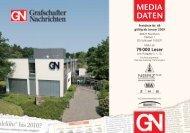 MEDIA DATEN - Grafschafter Nachrichten