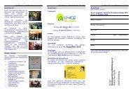 9. bis 15. Oktober 2010 - STADTJUGENDRING WOLFSBURG EV