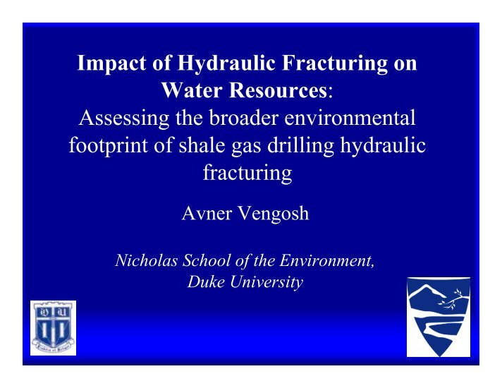 interview and hydraulic fracturing The following are a selection of events and resources relevant to the regulation of hydraulic fracturing in north carolina, compiled by kate a preston in preparation for an oral history interview with amy pickle 1945: nc general assembly enacts the oil and gas conservation act to regulate the oil.