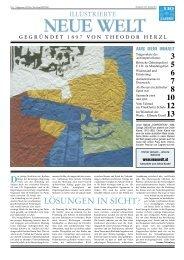 aktuellen Printausgabe der INW. - Illustrierte Neue Welt