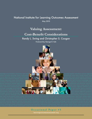 Valuing Assessment: Cost-Benefit Considerations - National Institute ...