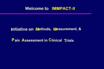 Interventions - immpact