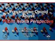 Prescription Opioid Abuse - immpact