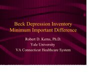 Beck Depression Inventory - immpact