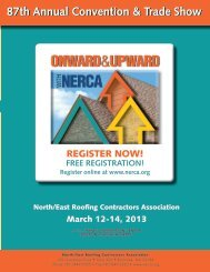 87th Annual Convention & Trade Show - Nerca