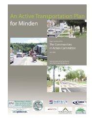 Minden's Active Transportation Plan - Haliburton County Community ...