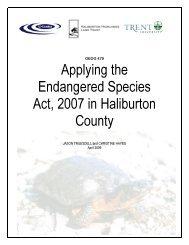 title page - Haliburton County Community Cooperative Inc