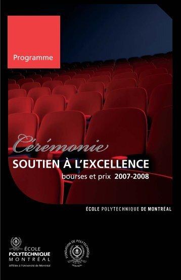SOUTIEN À L'EXCELLENCE - Fondation de Polytechnique - École ...