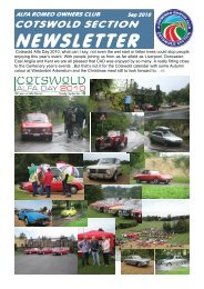 Cotswold Alfa Day 2010, what can I say - Alfa Romeo Owners Club