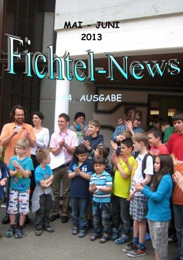 MAI - JUNI 2013 44. AUSGABE - fichtelnews.eu