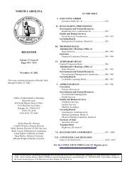 Volume 17, Issue 10, November 15, 2002 - Office of Administrative ...