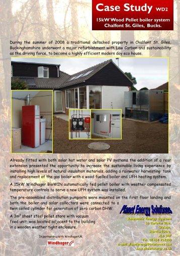 Case Study WD2 15kW Wood Pellet boiler system ... - SuperHomes