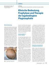 Klinische Bedeutung, Prophylaxe und Therapie der ... - kiss-kiel.de