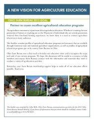 Ag Education Resource Directory Booklet - Ohio Farm Bureau ...