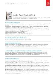 Flash Catalyst CS5.5 /MLP - Stifter-helfen.de