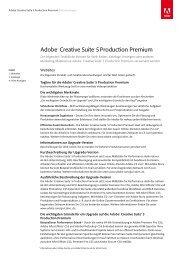 Adobe® Creative Suite® 5Production Premium - Stifter-helfen.de