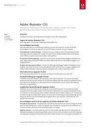 Adobe® Illustrator® CS5 - Stifter-helfen.de