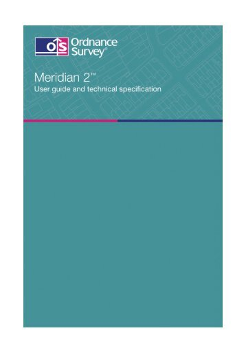 2 MB pdf: Meridian 2 user guide v5.3 - Digimap