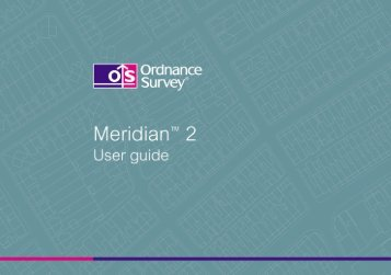 2.5MB pdf: Meridian 2 user guide v4.3 - Digimap