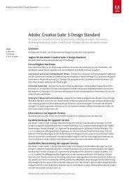 Adobe® Creative Suite® 5 Design Standard - Stifter-helfen.de