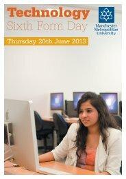 Technology - Manchester Metropolitan University