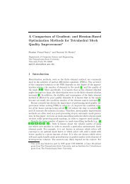 and Hessian-Based Optimization Methods for Tetrahedral Mesh ...