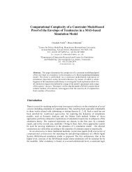Computational Complexity of a Constraint Model-based Proof of the ...