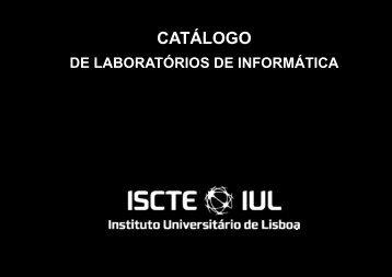 Catálogo de laboratórios de TI - 2009-12-14 - DSI - ISCTE