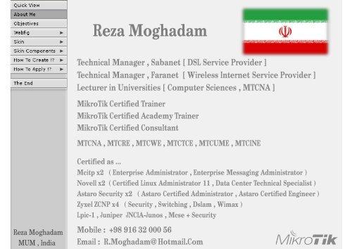 Reza Moghadam Technical M