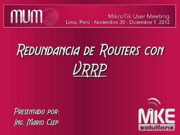 Presentación PDF - MUM