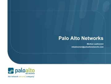 Palo Alto Networks - Stallion