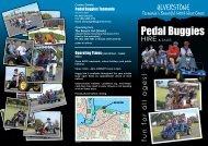 Pedal Buggies - Think Tasmania