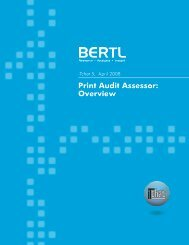 Print Audit Assessor: Overview