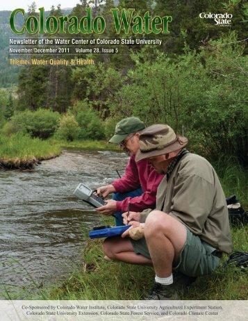 Theme: Water Quality & Health - Colorado State University